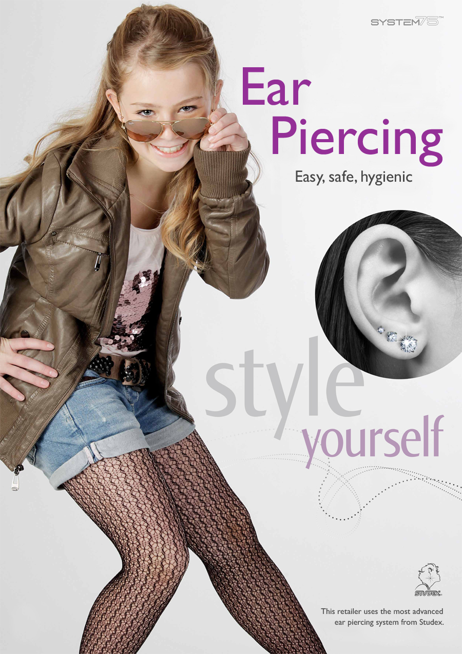 This Studex partner offers ear piercing services with our state-of-the-art eat piercing system Studex System 75