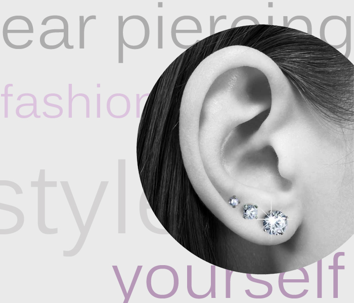 Tendenze orecchini 2013 – Multiple ear piercings