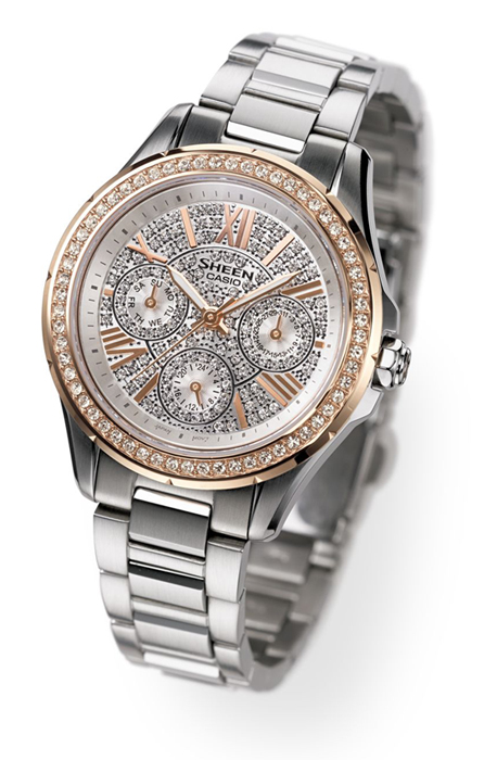 SHEEN SHE-3504SG with Swarovski Elements – © Casio Computer Co., Ltd.