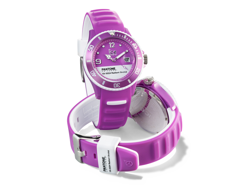 Jewelry Trends 2014: Ice-Watch PANTONE UNIVERSE Radiant Orchid – © Ice-Watch
