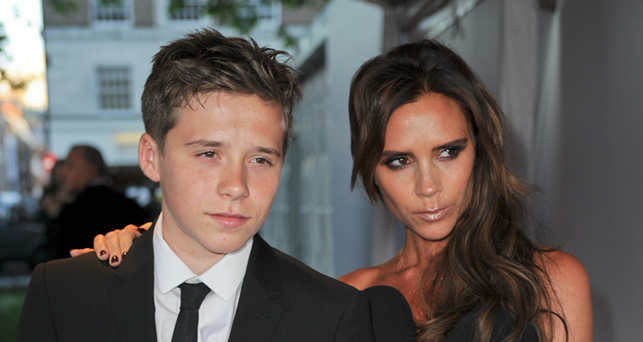 Brooklyn e Victoria Beckham, photo: © Landmark/PR Photos