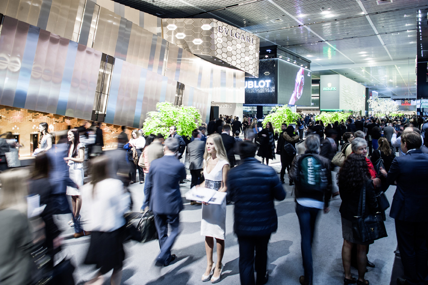 Baselworld 2016, Image: © Baselworld/MCH Swiss Exhibition (Basel) Ltd.